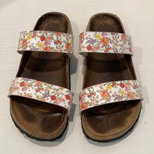 Betula by Birkenstock Floral Sandals 38